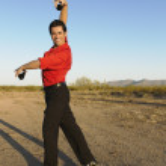 Hispanic male flamenco dancer posing — Stock Photo #52076471