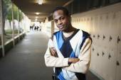 African teenage boy — Stock Photo