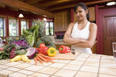 Hispanic woman — Stock Photo