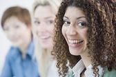 Multi-ethnic businesswomen — Stock Photo