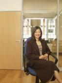 Asian businesswoman — Stock Photo