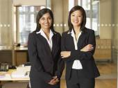 Multi-ethnic businesswomen — Stock Photo