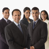 Multi-ethnic businesspeople — Stock Photo