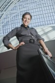 Hispanic businesswoman — Stock Photo