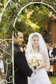 Hispanic couple getting married — Stock Photo