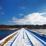 Winter landscape — Stock Photo #76926595