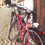 Постер, плакат: Bicycle in the city