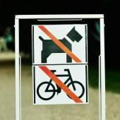 Not allowed — Foto de Stock