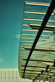 Airport interier. Outdoors beauty  — Stockfoto