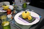 Abendessen im restaurant — Stockfoto
