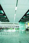Big busy  airport  — Stockfoto