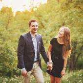 Young couple spending weekend together. — Stock Photo
