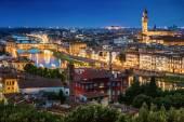 Florence Skyline — Stock Photo