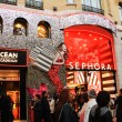 SEPHORA store decorated for Christmas — Stock Photo #60993505