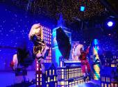 Christmas decoration  of Printemps department store — Stock Photo