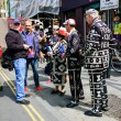 Pearly Kings and Queens raise funds for charity — Stock Photo #74012407