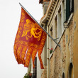 Flag of Venice with winged lion — Stock Photo #75885155