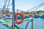 Gangway of the ship Sea — Stock Photo