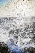 Surf at dawn — Stock Photo