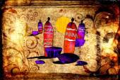 African motive art — Fotografia Stock