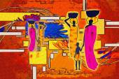 African motive art — Stockfoto