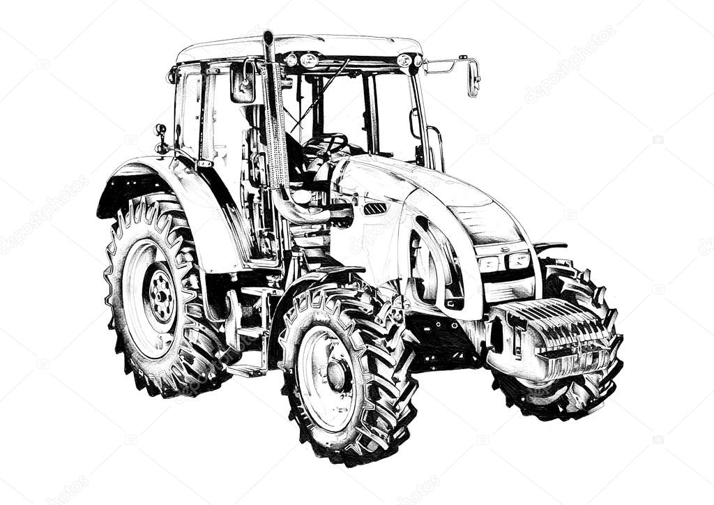 Kleurplaat Fendt Tractor Ausmalbild Ausmalbild Oldtimer 2 Woyaolu