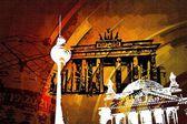Berlin art design illustration — Stockfoto