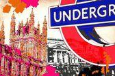 Ilustración de diseño de arte de Londres — Foto de Stock