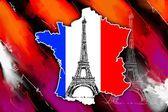 Paris sanat tasarlamak — Stok fotoğraf