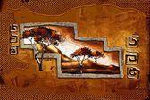 African motive art — Zdjęcie stockowe