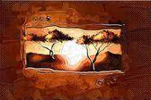 African motive art — 图库照片