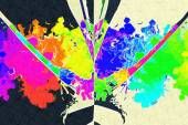 Abstract color design art — Stock Photo