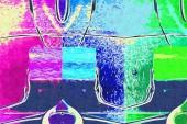 Diseño de color abstracto arte — Foto de Stock