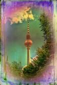 Berlin art design illustration — 图库照片