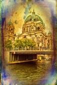 Berlin art design illustration — Stock Photo