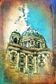 Berlin art design illustration — Stock Photo