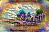 Berlin art design illustration — Foto de Stock
