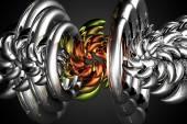 Art abstractie lichte kleur — Stockfoto