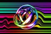 Sztuka abstrakcja jasny kolor — Zdjęcie stockowe