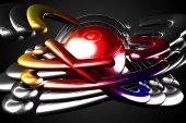 Art abstraction light color — Foto de Stock