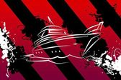 Yacht icon illustration — Stock Photo