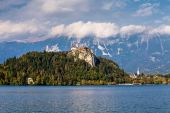 Around Lake Bled in Slovenia — Stock Photo