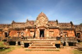 Phanom rung national park in North East of Thailand  — Stock Photo