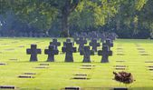 La Cambe, German Military Cemetery — Stock Photo