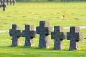 German La Cambe Cemetery in Normandy, France — Stock Photo
