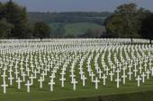 Thousands of American Lives, Henri-Chapelle American Cemetery and Memorial — Stock Photo