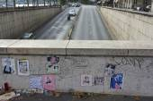 Princess Diana Wall Tribute Above Tunnel — ストック写真