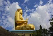 Dev Altın Buddha, Dambulla mağaraları, Sri Lanka — Stok fotoğraf