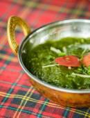 Palak paneer. Indian dishes — Stock Photo