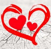 Coeur saint-valentin — Photo